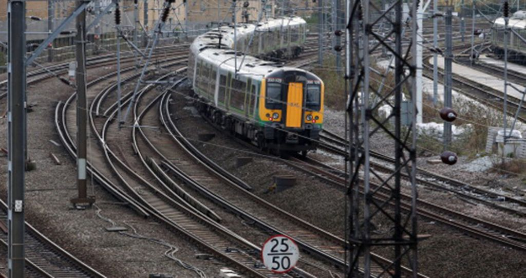 Levers Train Tracks O N : The railway workers trained to stop suicides bbc news