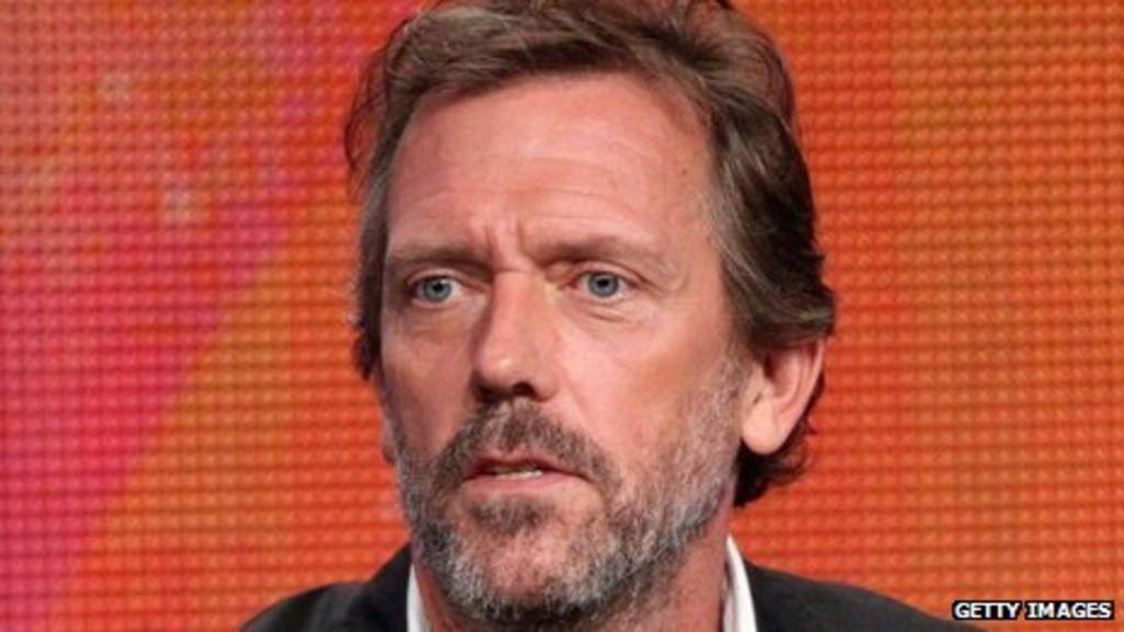 Hugh Laurie named best...