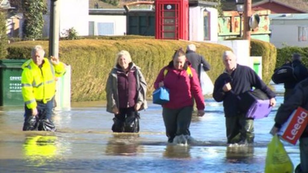 Floods Force Yalding Mobile Home Residents Into Hotels