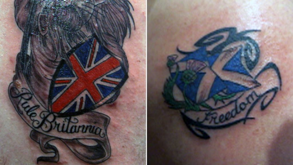 scottish independence do tattoos help shape what we believe in bbc news. Black Bedroom Furniture Sets. Home Design Ideas