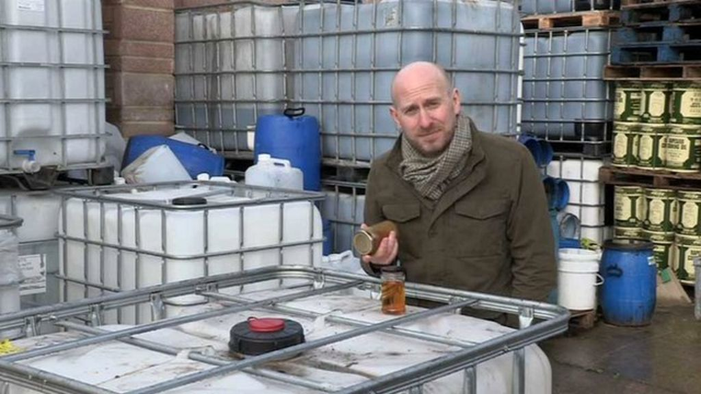 The Secret World Of The Cooking Oil Thieves Bbc News