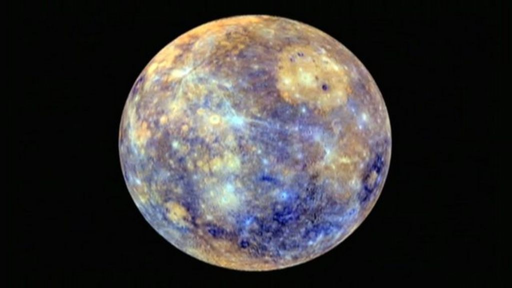 Smallest planet Mercury 'is getting smaller' - BBC News