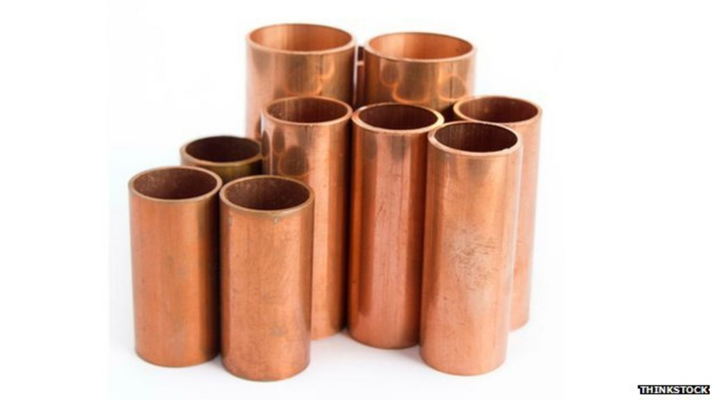 Copper price falls on chinese concerns bbc news for Copper pipes price