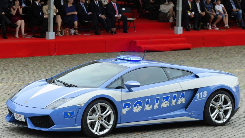 Italy Lamborghini Huracan Sports Car Given To Police