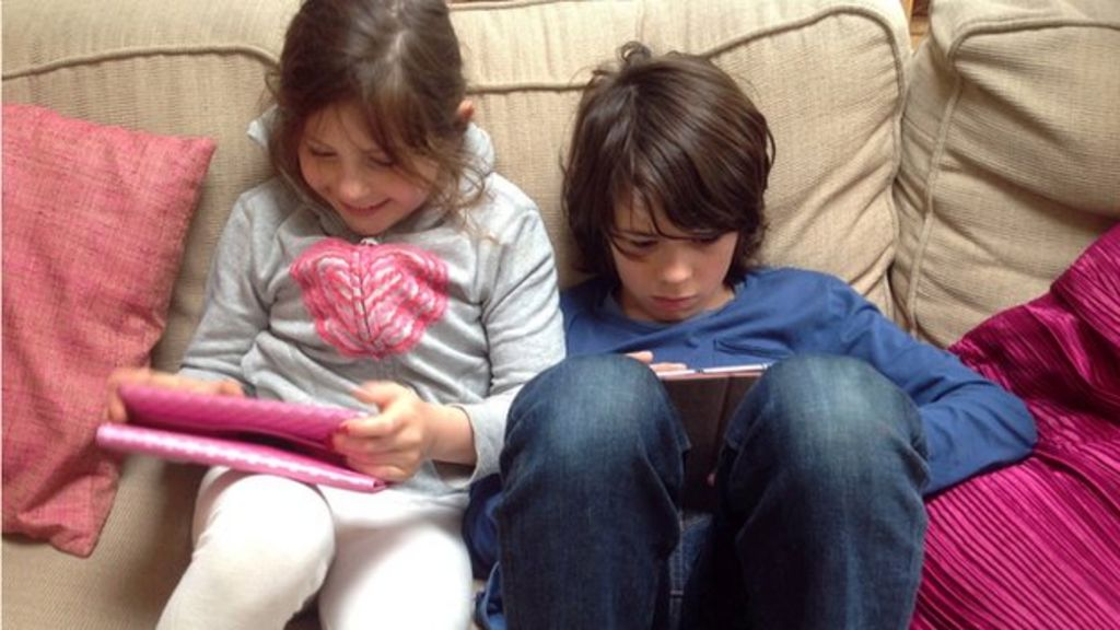Do we need to rescue our kids from the digital world? - BBC News