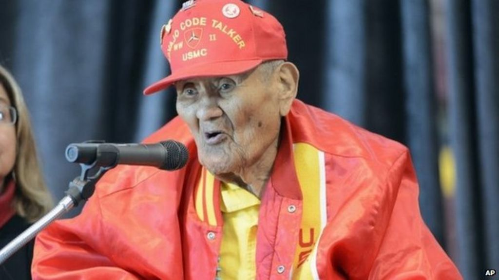 Last of the 'code talkers'