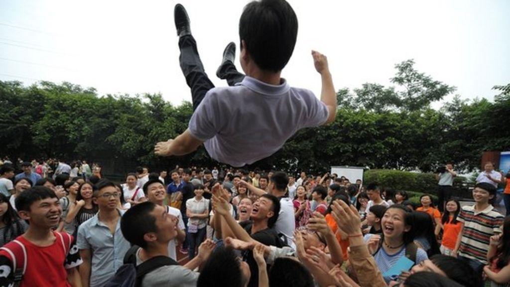 Can technology pick China's top graduates?