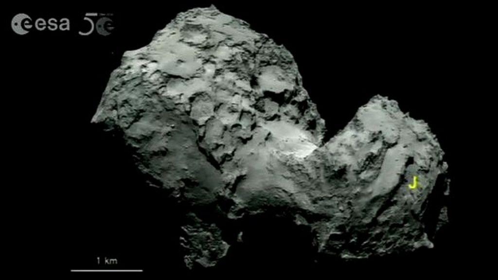 rosetta asteroid landing ocean - photo #20