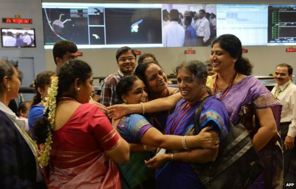 India's Mars mission: Picture that spoke 1,000 words - BBC ...