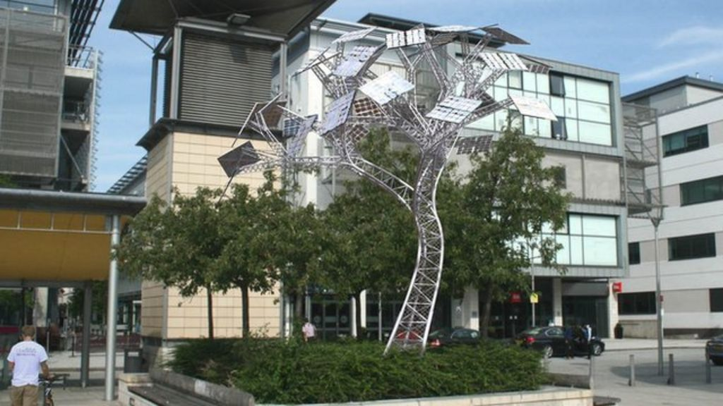 Bristol Millennium Square Solar Power Tree To Be Switched