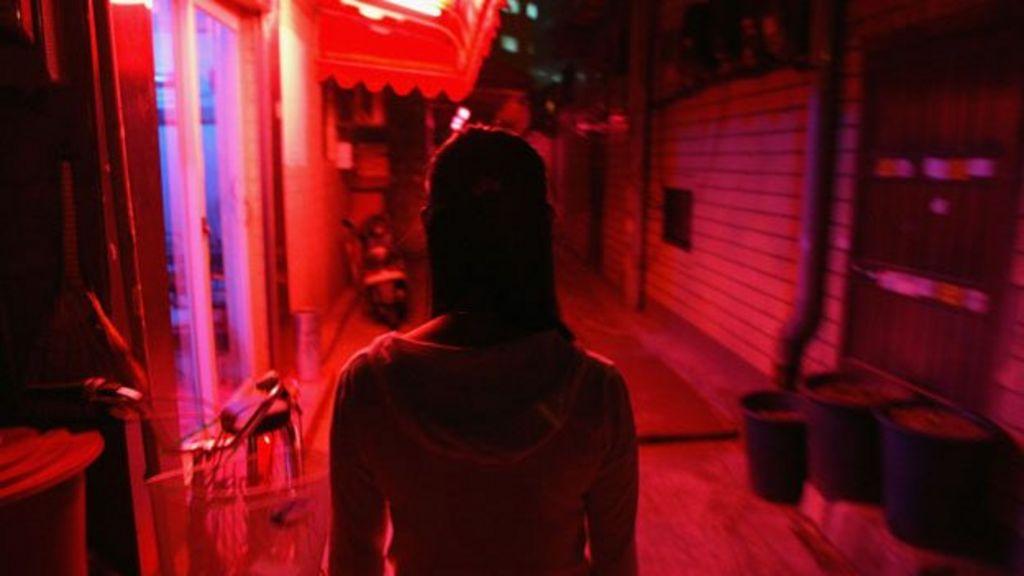 Did Korea encourage sex work at US bases?