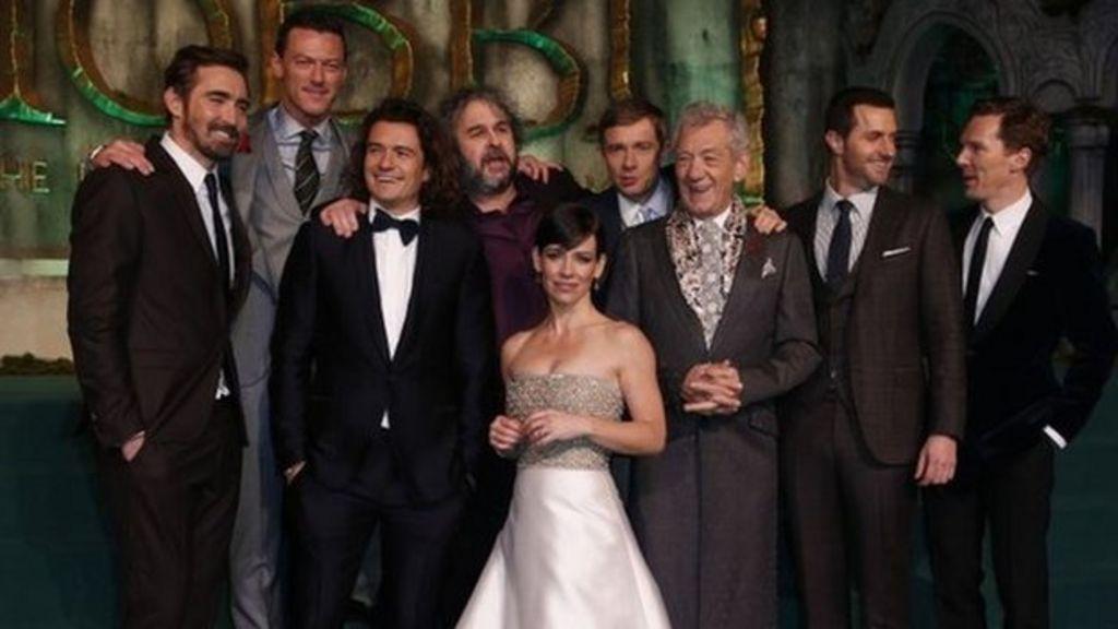 The Hobbit: The Battle of the Five Armies world premiere ...