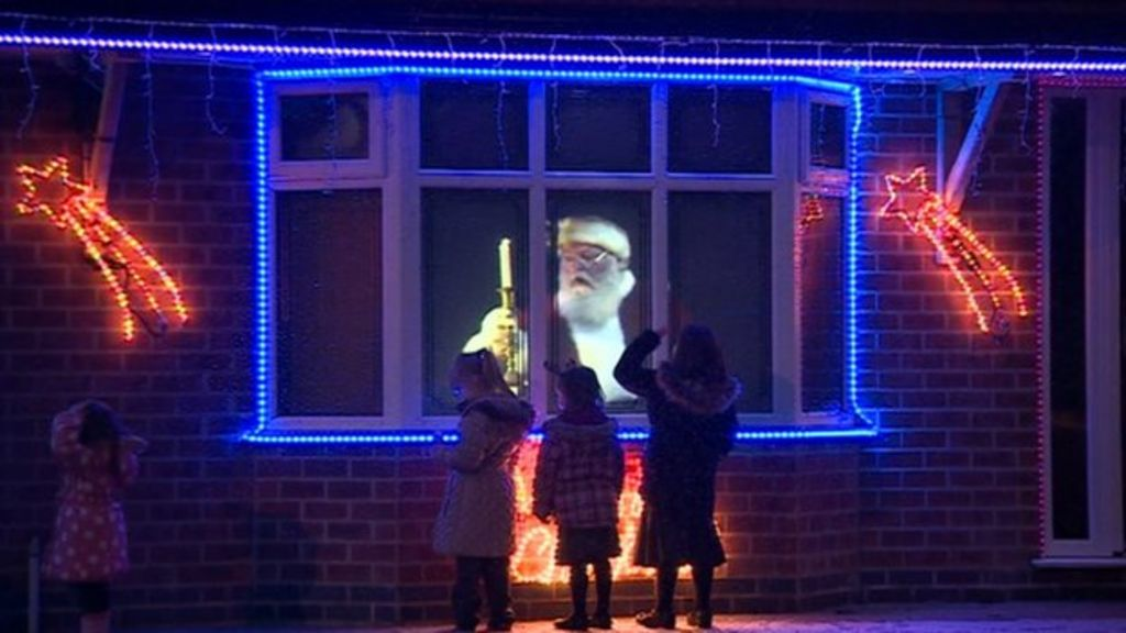 Father Christmas Lives In Derby Bbc News