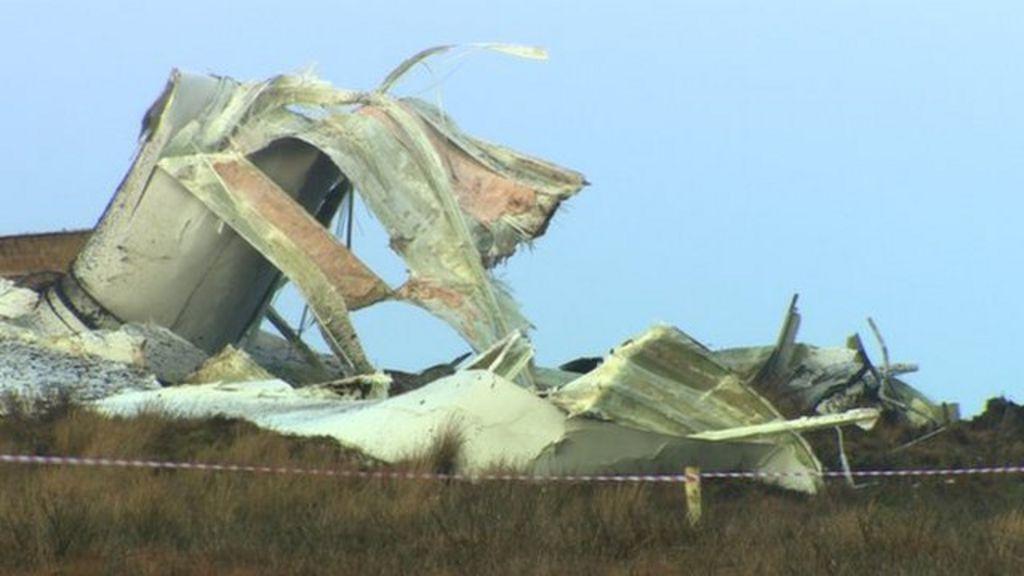Fintona County Tyrone 80 Metre Wind Turbine Collapses