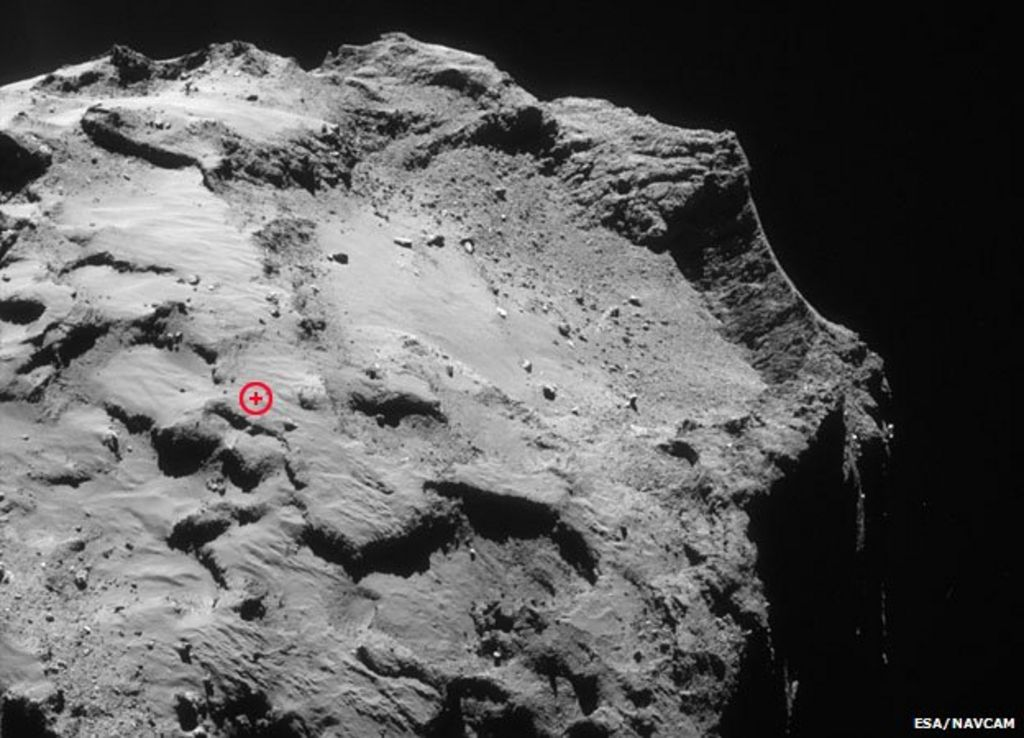 stable on philae comet lander - photo #9
