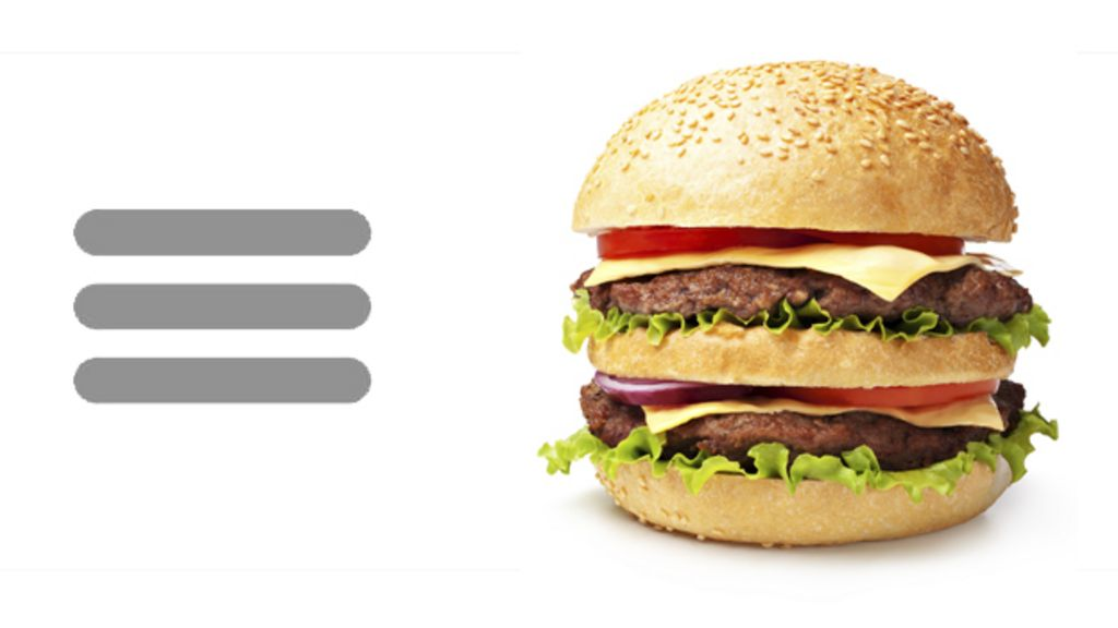 Hamburger icon: How these three lines mystify most people