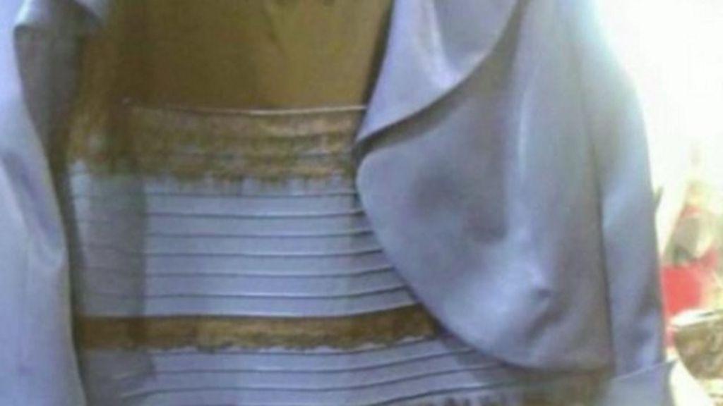 Optical Illusion Dress Colour Debate Goes Global Bbc News