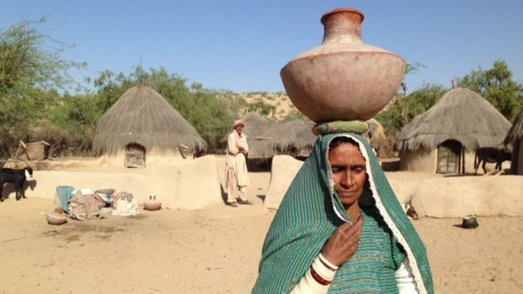 Ray of light in Pakistan's drought-hit Thar desert - BBC News  Ray of light in...