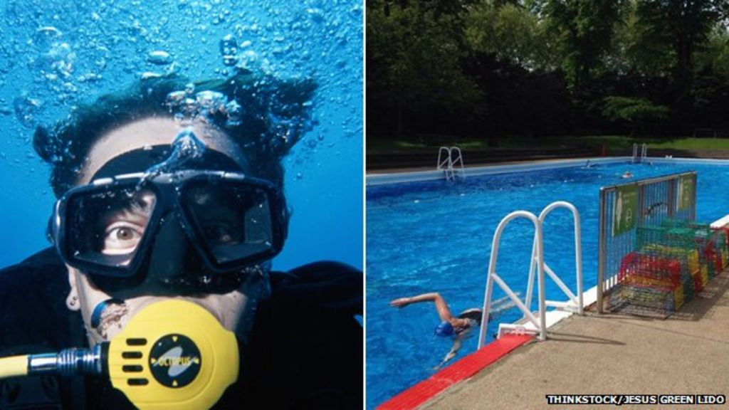 Cambridge Jesus Green Lido Scuba Diving Pool Cleaners Wanted Bbc News