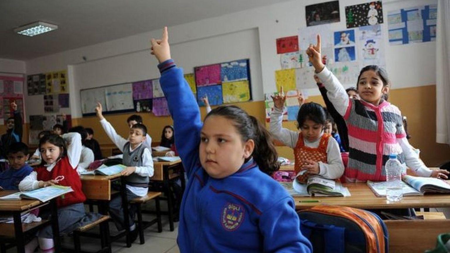 Sınıfta çocuklar