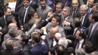 Angry exchanges in Brazil's Congress