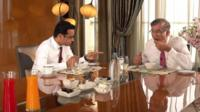 Niranjan Hiranandani speaks to the BBC's Sameer Hashmi over breakfast