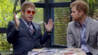 Sir Elton and Prince Harry