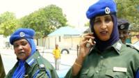 Female Somali police officers
