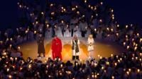 Musicians sing 'Imagine' at the Opening Ceremony