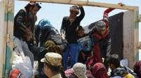 People trapped in Falluja