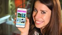Vana Koutsomitis with her app