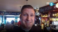 Vicar Graeme Dutton holds regular pub services