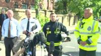 Emergency services give press conference