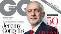 Jeremy Corbyn GQ cover