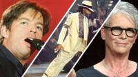 Harry Connick Jr, Michael Jackson and Jamie Lee Curtis