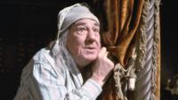 Michael Hordern as Ebenezer Scrooge