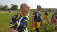 Meet 82-year-old Jimmy, who plays Masters Rugby League