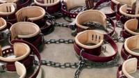 Shackles; from the series Guantanamo: If the Light Goes Out
