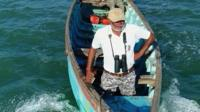 One man's fight to save whale sharks in Gujarat