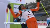 A tricky start for Venezuelan skier, Adriano Solano