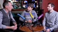 Sheridan, Michel and Jonny
