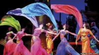 Dancers in Aladdin