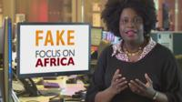 Rachael Akidi explains how to spot a fake Focus on Africa report