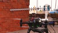 A drone 3D mapping