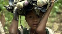 A Rohingya boy.