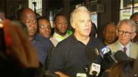 Charleston City Police Chief Gregory Mullen at a news conference