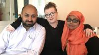 Since moving in with Pakistani Muslim foster parents, Rebecca Brown - who is white British - has had school friends ask if she lives with terrorists, because of their religion.