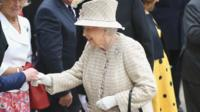 The Queen at Pangbourne college