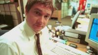 Martin Freeman as Tim Canterbury in The Office