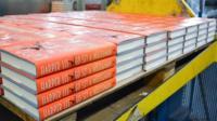 Books on printing press